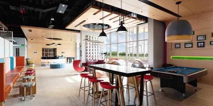 Aloft Dubai South Hotel Bar and Lounge