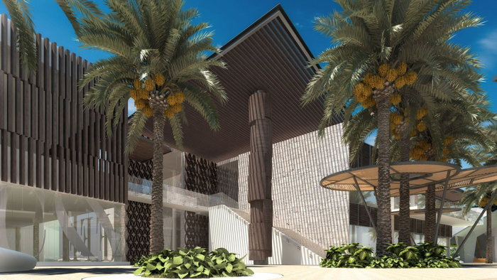 Rendering of the Grand Palladium Costa Mujeres Resort & Spa