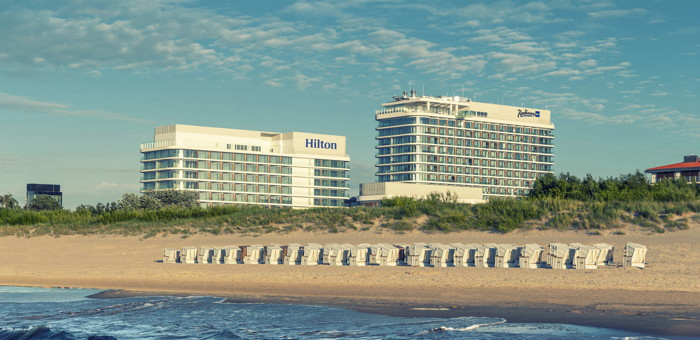 Rendering of the Hilton Świnoujście Resort & Spa