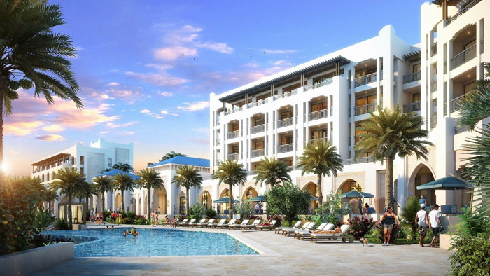 Rendering of the St. Regis Tamuda Bay Hotel