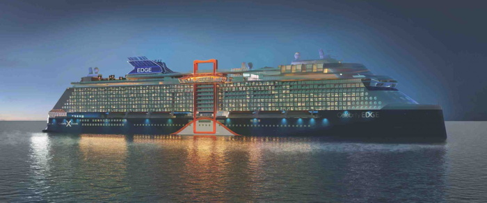 Celebrity Cruises Takes Delivery Of The Celebrity Edge