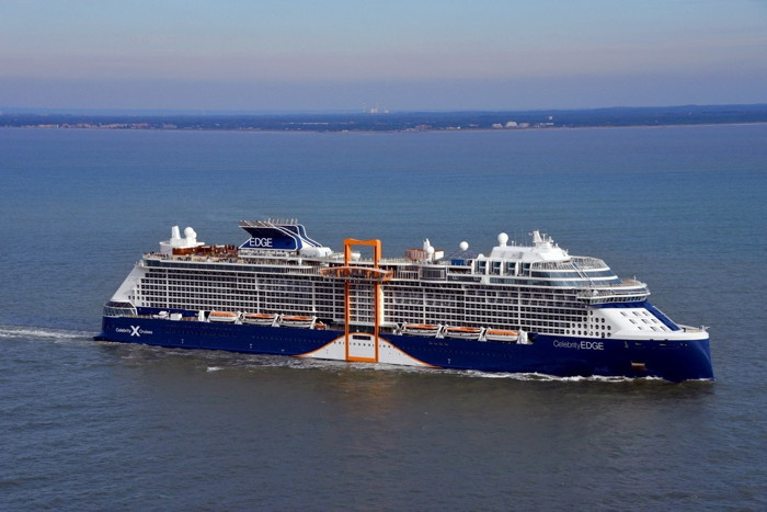 Celebrity Edge - Photo credit: Bernard BIGER, Chantiers de l'Atlantique