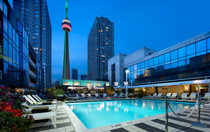 Rendering of the Radisson Blu Hotel Toronto-Harbourfront