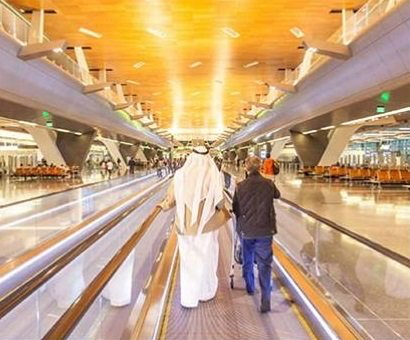 Unnamed airport in the Middle East