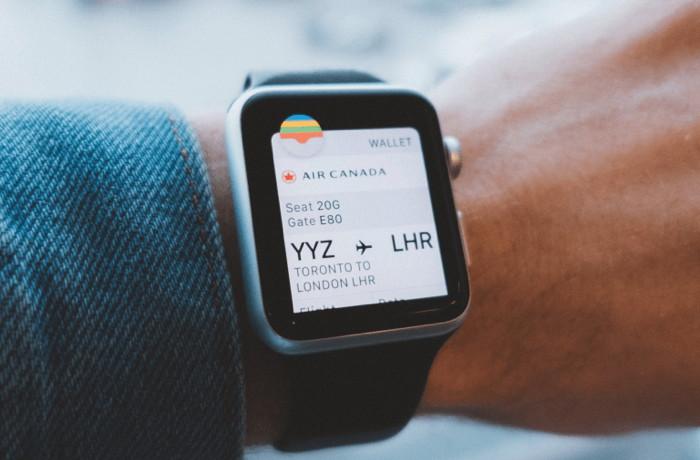 An Apple watch