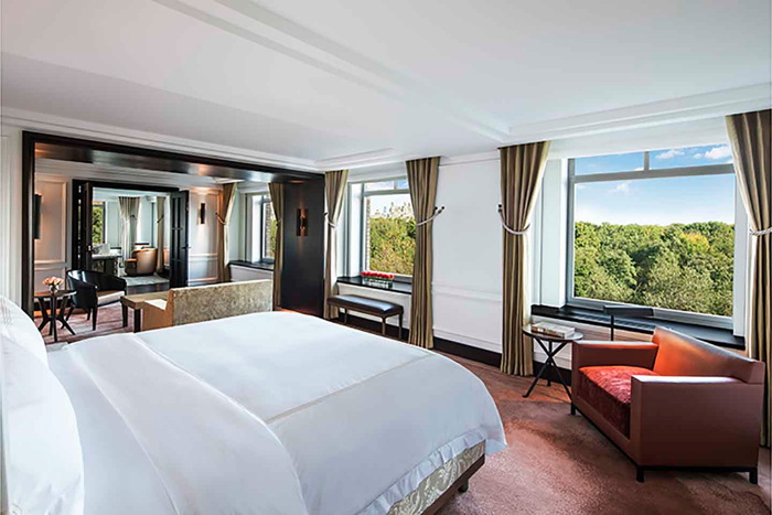 The Royal Suite, Master Bedroom at The Ritz-Carlton New York, Central Park