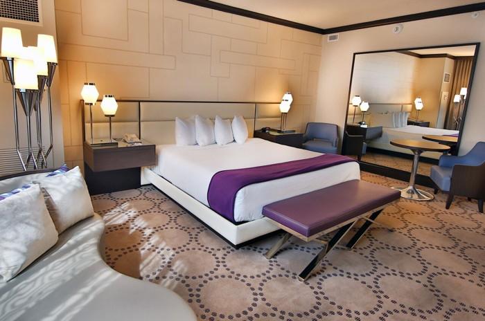 Guestroom at the Harrah's Resort Atlantic City Coastal Tower
