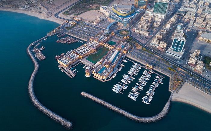 Al Kout Mall - Aerial view