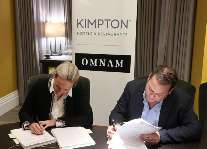 Image from Kimpton Rotterdam Hotel signing ceremony