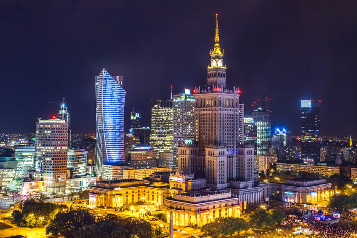 Panoramic view of Warsaw - Photo by Kamil Gliwiński on Unsplash