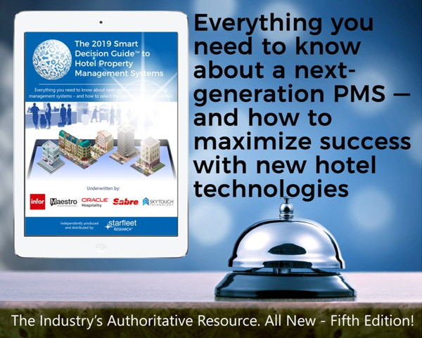 2019 Smart Decision Guide to Hotel Property Management Systems