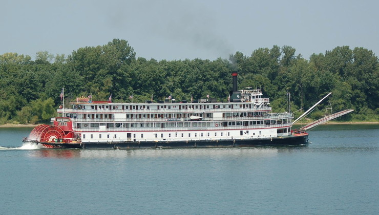 Historic Delta Queen Steamboat to Resume Overnight Voyages on Inland Waterways