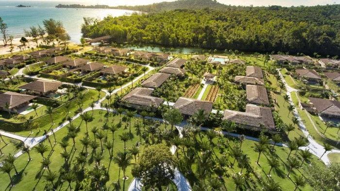 Fusion Resort Phu Quoc - Aerial view