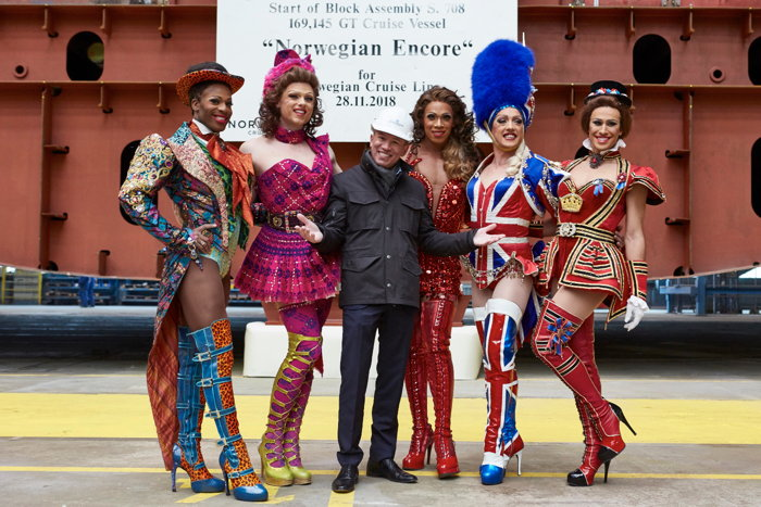 Cast from Kinky Boots