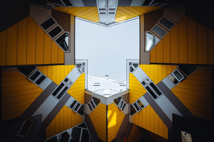 Cube House - Photo by Denys Nevozhai on Unsplash