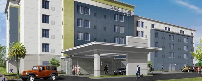 Rendering of the Springhill Suites Tampa North Land O' Lakes