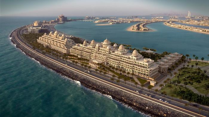 Emerald Palace Kempinski Dubai Hotel - Aerial view