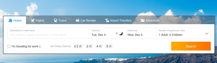 Ctrip screenshot
