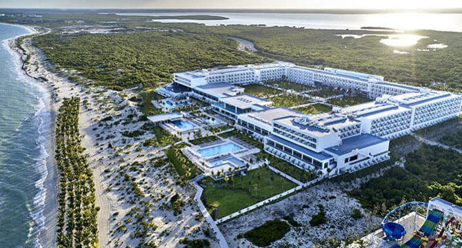 Riu Palace Costa Mujeres Resort - Aerial view