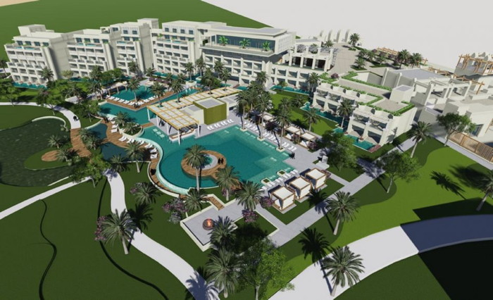 Rendering of the Steigenberger Pure Lifestyle Hotel in Hurghada, Egypt