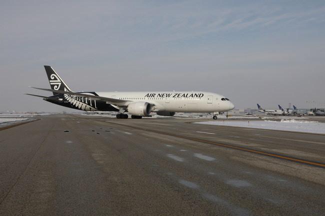 Air New Zealand at O'Hare