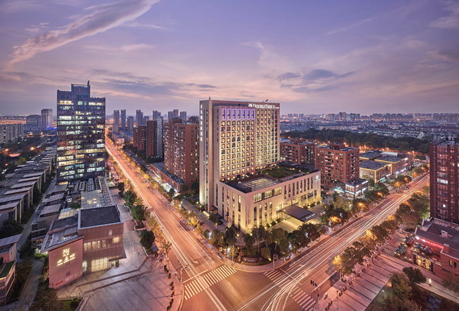 Rendering of the DoubleTree by Hilton Shanghai Nanxiang