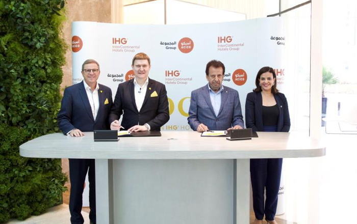 Image from voco Dubai Hotel signing ceremony