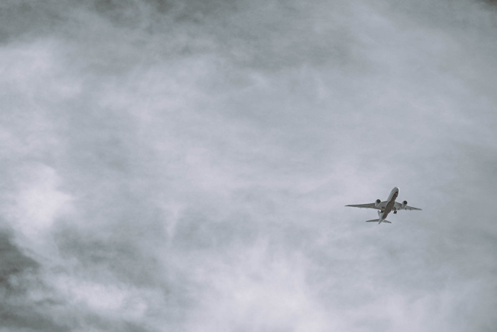 grayscale photo of airliner - Photo by Fancycrave on Unsplash