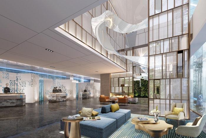 Radisson Suzhou Hotel - Lobby