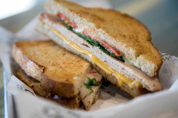 Club Turkey Grilled Cheese