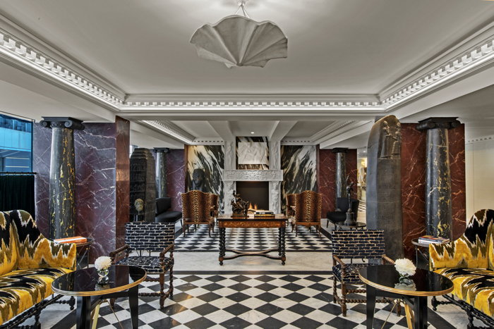Hôtel de Berri In Paris - Lobby