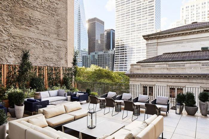Park Terrace Hotel - Rooftop terrace