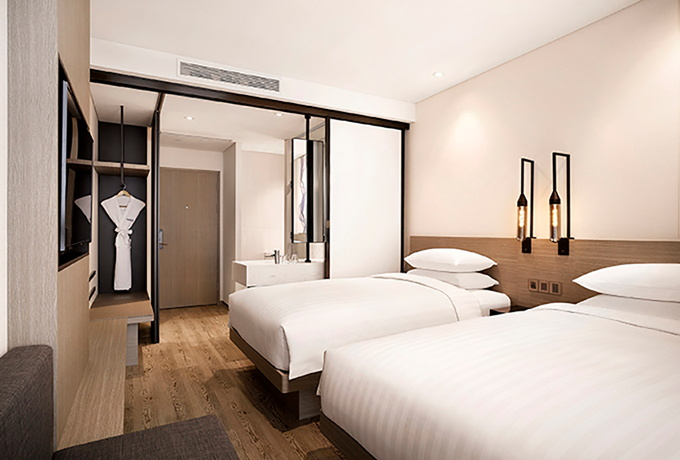 Guestroom at the Fairfield by Marriott Busan