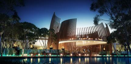 Rendering of the Breathless Tulum Resort & Spa