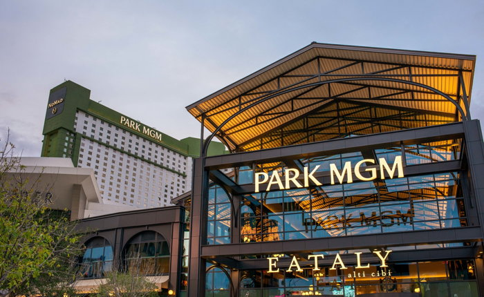 Eataly Las Vegas and Park MGM exterior/Photo credit: Francisco Lupini/Eataly USA