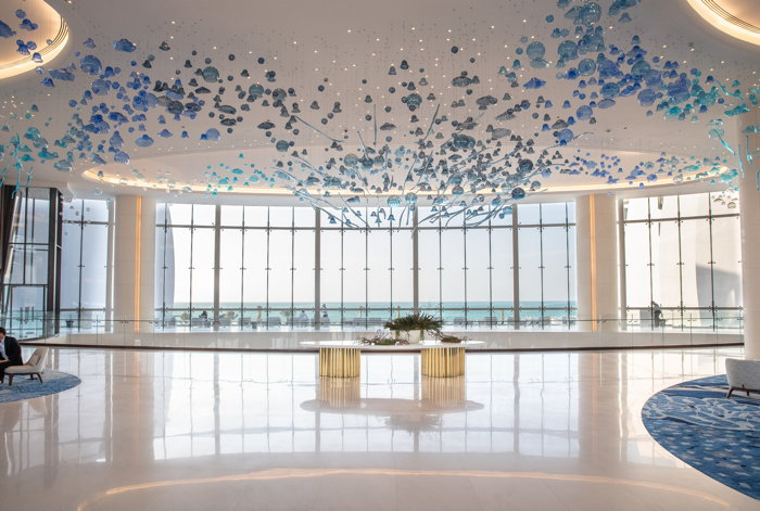 Jumeirah at Saadiyat Island Resort - Lobby