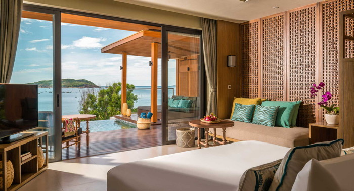 Rendering of the Anantara Quy Nhon Villas Resort