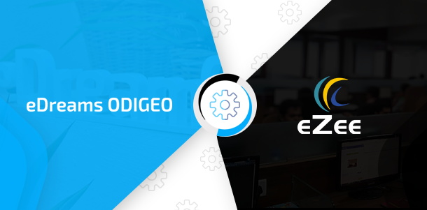 eZee Technosys and eDreams ODIGEO logos