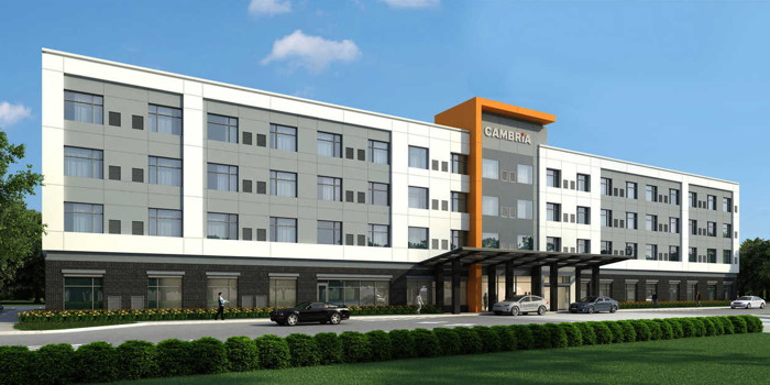 Rendering of the Cambria Hotel Arundel Mills-BWI Airport