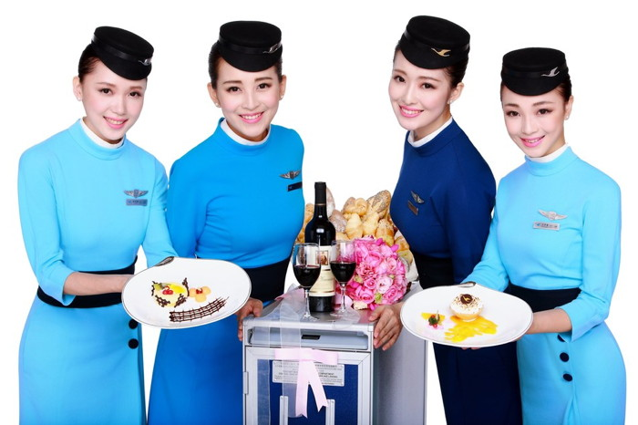 Xiamen Airlines Flight Attendants