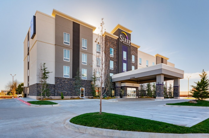 Sleep Inn & Suites Yukon - Exterior