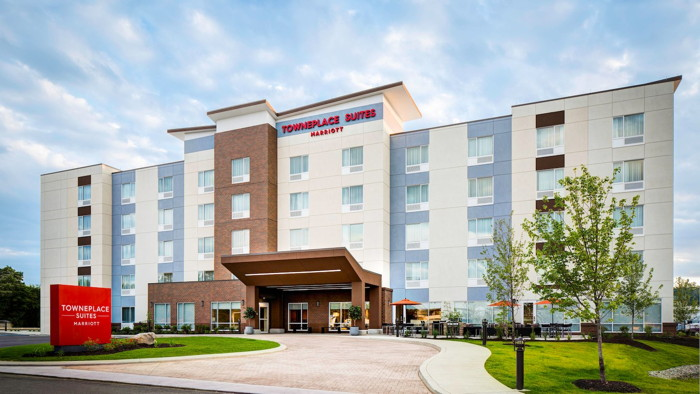 Rendering of the TownePlace Suites by Marriott in Jackson, Michigan