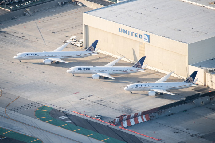 United Airlines 787-8, 787-9 and 787-10 Dreamliners