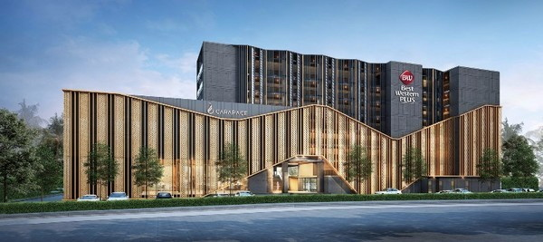 Rendering of the Best Western Plus Carapace Hotel Khao Tao