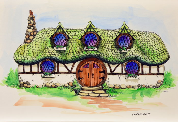 Ancient Lore Village at Boyd Hollow features 150 themed dwellings