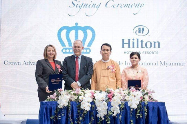 Signing Ceremony for Hilton Times City Yangon