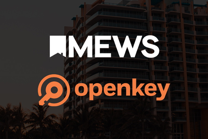 Mews and OpenKey logos