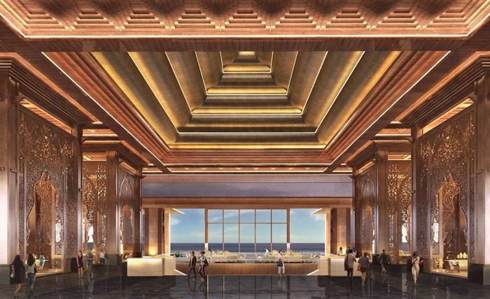 Rendering of the The Apurva Kempinski Bali Resort - Lobby