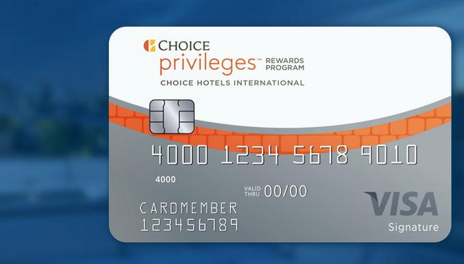 Choice Privileges card
