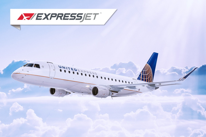 ExpressJet Airlines airplane